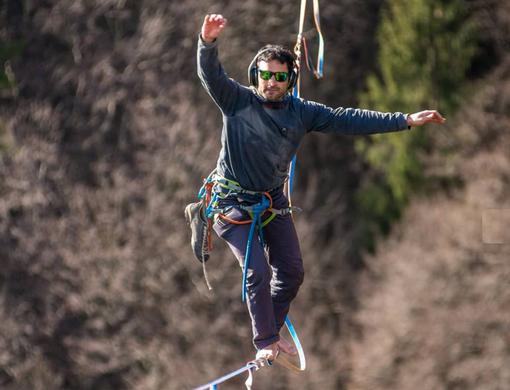 VIDEO. «Salto nel cielo tra le bellezze di Varese. Onorato di dare visibilità a questo territorio»