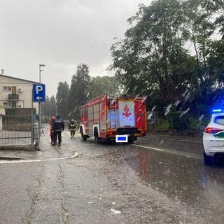 Ponte della stazione a Busto, soccorsi automobilisti