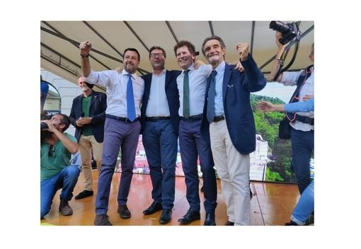 Domani Attilio Fontana e Stefano Bruno Galli e giovedì Matteo Salvini a Varese