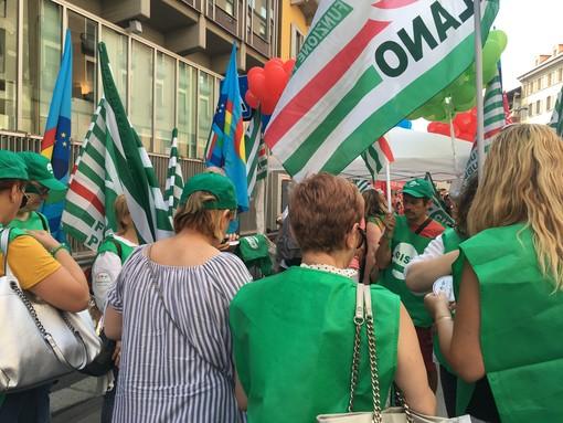 Sindacati varesini all'attacco per il mancato rinnovo del contratto della sanità privata: «Il tempo degli eroi sembra passato»