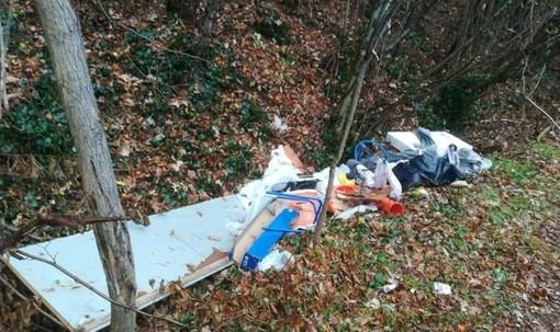 Tradate, scarica rifiuti nei boschi: individuato e sanzionato