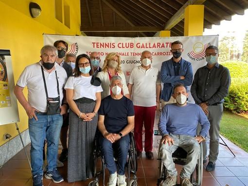 La presentazione del torneo nazionale al Tennis Club Gallarate