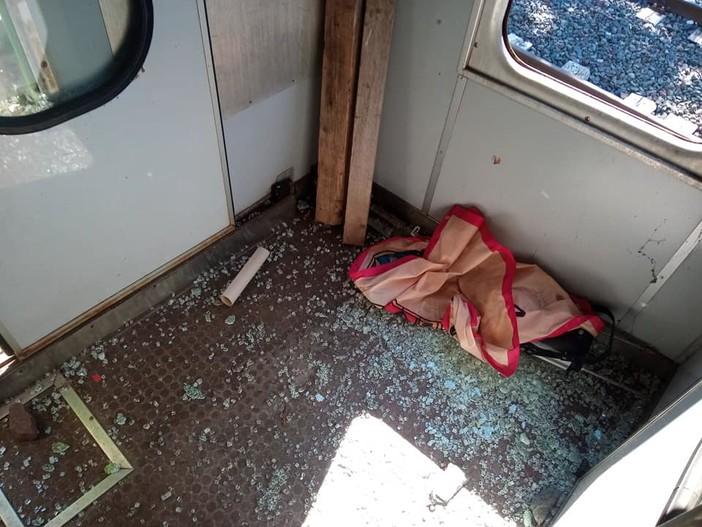 """FOTO. Malnate, vandali di nuovo in azione alla sede de """"I Nostar Radiis"""""""