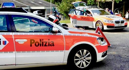 Canton Ticino, incidente nella notte: muore motociclista