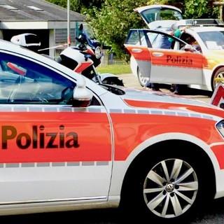 (foto d'archivio dalla pagina Facebook della polizia cantonale)