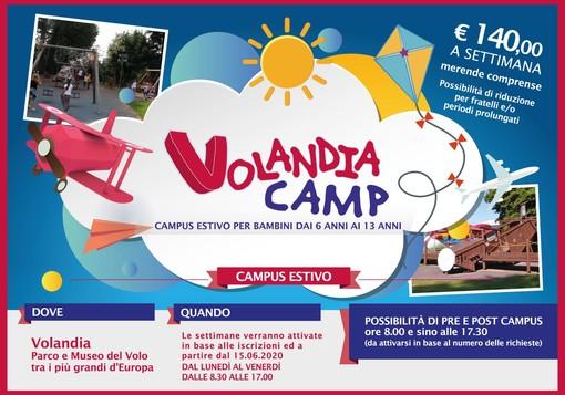 Campus estivo a Volandia: si decolla il 15 giugno