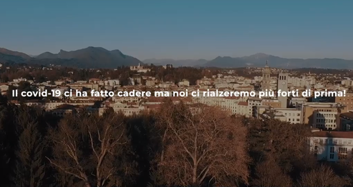 Varese forte e coraggiosa, il video che incoraggia la città alla ripartenza con buonsenso