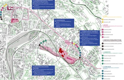 Dal Governo 30 milioni per riqualificare l'ex Macello di Belforte e Villa Baragiola a Masnago