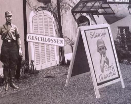 Cartelli contro l'amministrazione a Villa Mirabello, Zanzi: «Mi sono stufato di questa politica, ora scattano le denunce»
