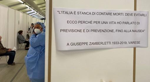 """VIDEO. Vi portiamo nel centro vaccinale della Schiranna, tra lo spirito dei """"ragazzini"""" over 80 e un grande lavoro di squadra"""
